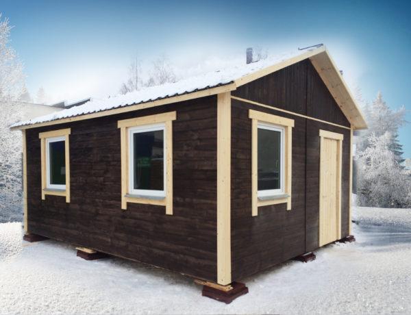 Дачный домик (6 на 6 м)