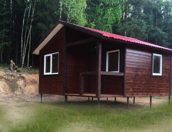 Дачный домик (6 на 6м)
